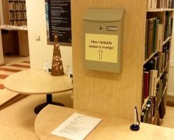 Aicinām novērtēt bibliotēkas darbu, piedaloties aptaujā!