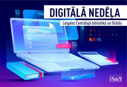 Digitālā nedēļa Daugavpils publiskajās bibliotēkās