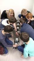 Занятия по робототехнике теперь и в микрорайонах Даугавпилса