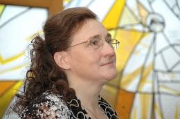 Dzejniece Sarmīte Radiņa Latgales Centrālajā bibliotēkā