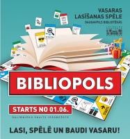 «Библиополия» возвращается в библиотеки Даугавпилса