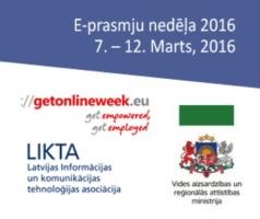 E-prasmju nedēļa Daugavpils publiskajās bibliotēkās