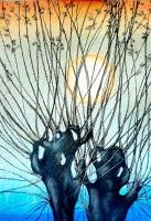 Библиотека приглашает на выставку пастельной живописи Жанетты Езерской