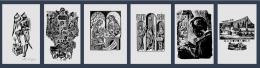 Ekslibru kolekcijas izstāde Latgales Centrālajā bibliotēkā