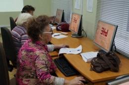 Бесплатные курсы компьютерной грамотности для сениоров в Латгальской Центральной библиотеке