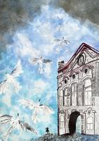 Выставка творческих работ даугавпилсских школьников