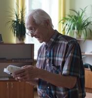 Tikšanās ar dzejnieku Alekseju Solovjovu Latgales Centrālajā bibliotēkā