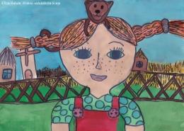 Bērnu zīmējumu konkursa izstāde