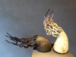 Выставка творческих работ Илоны Абдулаевой  в Латгальской Центральной библиотеке