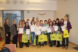 Заключительное мероприятие конкурса «Уважай себя и других в социальных сетях!»  в Латгальской Центральной библиотеке