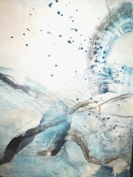 В библиотеке доступна персональная выставка Жанны Вердини «Трансформация будущего»