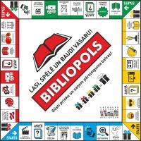 """Daugavpils bibliotēkas aicina bērnus spēlēt """"Bibliopolu"""""""